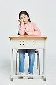 초등학생, 초등교육, 어린이 (나이), 피로 (물체묘사), 고역 (컨셉), 스트레스 (컨셉)