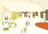 풍경 (컨셉), 사람들, 마스크 (방호용품), 봄, 백화점