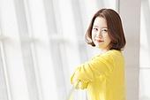 젊은여자,휴식,회사,한국