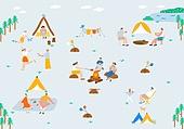 캠핑,여름,아웃도어,휴가,산