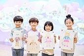 유아교육 (교육), 유아교육, 드로잉작품 (미술품), 페인팅작품 (미술품)