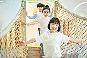 키즈카페, 놀이터, 키즈카페 (공공건물), 어린이 (나이), 유치원생, 행복
