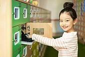 키즈카페, 어린이 (나이), 소녀 (여성), 신발장, 신발, 유치원생, 정리 (움직이는활동)