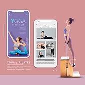 웹템플릿, 운동, 다이어트, 요가, 건강관리 (주제), 여성, 바디라인 (날씬함)