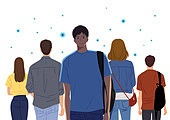 코로나바이러스 (바이러스), 코로나19 (코로나바이러스), 사회적거리두기 (사회이슈), 방심, 마스크 (방호용품), 바이러스