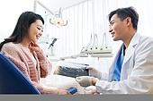 치과,여성,치료,진료,병원,의사