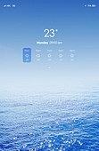 모바일백그라운드, 바다, 여름, 날씨, 풍경 (컨셉), 해변