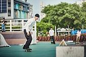 스케이트보드, 스케이트보딩, 스포츠, 라이프스타일, 익스트림스포츠 (스포츠), 타기, 활력 (컨셉), 도전, 도전 (컨셉), 성취 (성공), 열정 (컨셉)