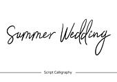 손글씨, 캘리그래피 (문자), 핸드라이팅 (문자), 알파벳 (문자), 결혼 (사건), Wedding