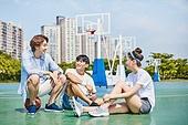 농구, 농구공, 농구대 (스포츠용품), 운동, 친구 (컨셉)