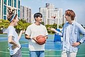 농구, 농구공, 청년 (성인), 라이프스타일, 운동, 친구 (컨셉)