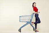 여성, 쇼핑 (상업활동), 상업이벤트 (사건), 쇼핑카트