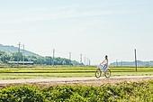 한국인, 여행, 행복, 자전거, 타기 (움직이는활동)
