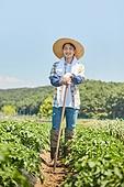 귀농, 농업, 농부 (농촌직업), 채소밭