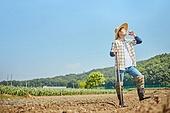 귀농, 농업활동, 농부 (농촌직업), 작업도구 (장비), 갈증, 음용수 (물)