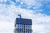 건설업, 건설현장, 건축, 부동산, 발전 (컨셉), 주택개발 (주거건물), 재개발단지, 아파트, 집 (주거건물)