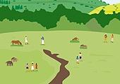 풍경 (컨셉), 자연 (주제), 제주도 (대한민국), 제주올레 (한국지명), 산, 언덕