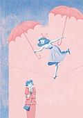 위로, 용기 (인조물건), 희망 (컨셉), 정신건강, 사람, 비 (물형태), 우산 (액세서리)
