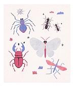 곤충, 벌레, 사슴벌레, 나비, 개미