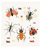 곤충, 벌레, 벌 (곤충), 모기