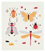 곤충, 벌레, 나비, 잠자리
