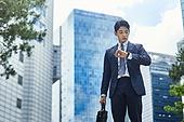 청년 (성인), 비즈니스, 비즈니스맨, 채용 (고용문제), 출퇴근 (여행하기), 스트레스 (컨셉)