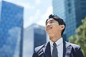 비즈니스, 비즈니스맨, 열정 (컨셉), 자신감, 성공, 성취 (성공)
