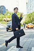 비즈니스, 비즈니스맨, 노동자 (직업), 출퇴근 (여행하기), 스트레스 (컨셉), 스트레스