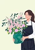 나를 위한 꽃