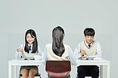 사회적거리두기 (사회이슈), 고등학생, 중학생, 급식 (움직이는활동), 학교점심 (점심시간)