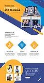 웹템플릿, 메인페이지 (이미지), 교육 (주제), 인터넷강의 (인터넷), 공부, 모바일강의, 고등학생