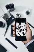 비즈니스, 업무현장, 사업가, 직업 (역할), 스마트기기 (정보장비), 스마트폰
