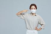 마스크 (방호용품), 코로나바이러스 (바이러스), 코로나19 (코로나바이러스), 사회적거리두기 (사회이슈), 감기예방마스크 (마스크), 포인팅 (손짓)