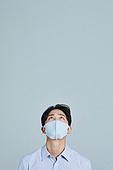 마스크 (방호용품), 사회적거리두기 (사회이슈), 코로나바이러스 (바이러스), 응시 (감각사용)