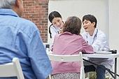 의료봉사 (사회복지), 사회복지 (사회이슈), 재능기부 (기부), 의사, 진찰 (치료), 치아, 치아건강