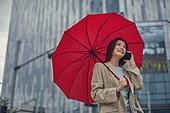 폭우 (비), 기상 (날씨), 날씨, 비 (물형태), 장마, 장마 (계절), 폭우, 우산 (액세서리), 스마트폰, 휴대폰