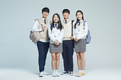 한국인, 십대 (나이), 교육 (주제), 학생, 중고등학교 (학교건물), 고등학생