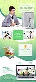 웹템플릿, 메인페이지 (이미지), 교육 (주제), 학교건물 (교육시설), 공부, 휴대폰 (전화기), 인터넷강의 (인터넷), 고등학생