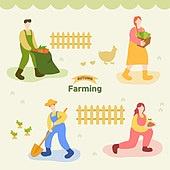 가을,일러스트,농사