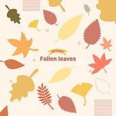 가을,일러스트,나뭇잎
