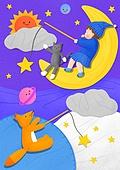 아기 (나이), 잠, 꿈꾸기 (활동), 동화, 잠옷
