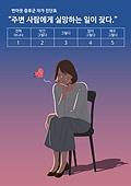 번아웃증후군 (격언), 스트레스, 우울, 화이트칼라 (전문직), 피로 (물체묘사), 점검표 (목록), 비즈니스우먼