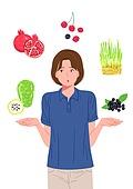 건강한생활 (주제), 건강관리, 영양제 (건강관리), 건강식 (Food And Drink)