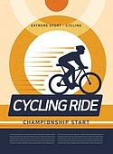 일러스트, 벡터 (일러스트), 익스트림스포츠 (스포츠), 포스터, 스포츠이벤트 (사건), 이벤트페이지, 자전거 (Cycle)