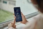 폭우 (비), 장마 (계절), 비 (물형태), 스마트폰, 휴대폰