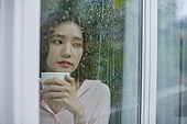 폭우 (비), 기상 (날씨), 장마, 날씨, 감성, 차 (뜨거운음료)