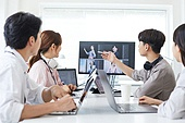 MCN, 비즈니스, 비즈니스 (주제), 일 (물리적활동), 회의실, 미팅, 아이디어 (컨셉), 토론