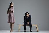 한국인, 커플 (인간관계), 갈등, 싸움 (물리적활동), 화 (컨셉), 감정, 갈등 (컨셉)