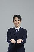 한국인, 비즈니스맨, 캠페인, 채용 (고용문제), 아이디어, 포인팅 (손짓), 취업준비생 (역할)
