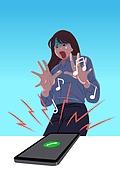 전화 공포증